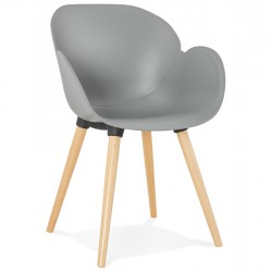 Sittwell Contemporary Armchair - Grey