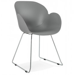 Telsta Modern Armchair - Grey