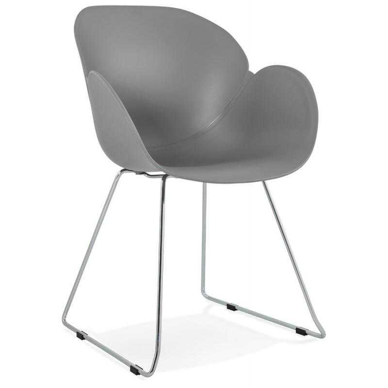 Telsta Modern Armchair - Grey