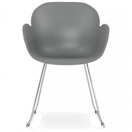 Telsta Modern Armchair - Grey Front View