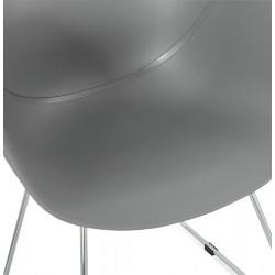 Telsta Modern Armchair - Grey  Seat Detail