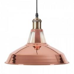 Industrial Metal Pendant Light copper