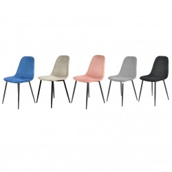 Anthol Velvet Upholstered Dining Chairs-  Various colours
