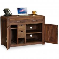 Salento Walnut Hideaway Home Office