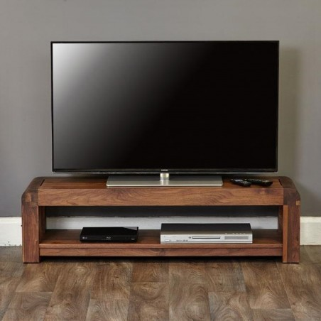 Salento small widescreen TV cabinet front