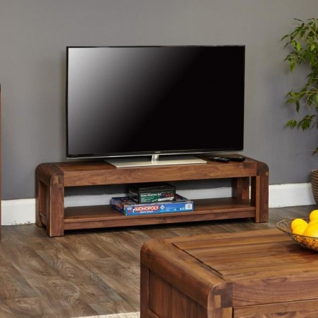 Salento small widescreen TV cabinet side