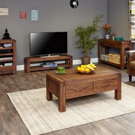 Salento small widescreen TV cabinet room view