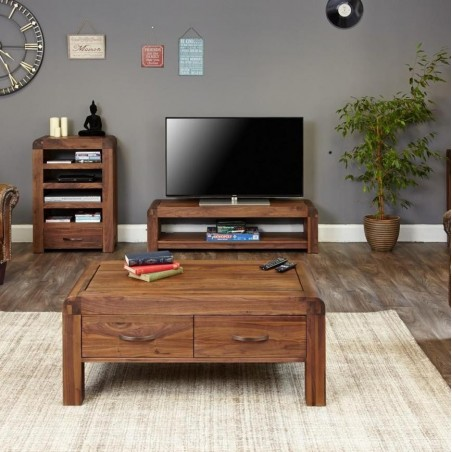 Salento small widescreen TV cabinet front room view