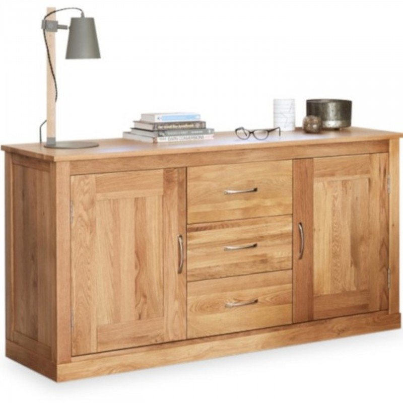 Teramo Large Oak Sideboard