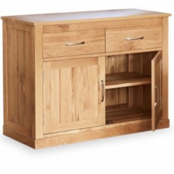 Teramo Small Oak Sideboard open