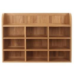 Teramo Oak Wall Storage Unit