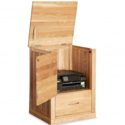 Teramo Oak Printer Cupboard