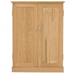 Teramo Oak Shoe Cupboard
