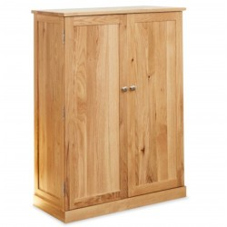 Teramo Large Oak Shoe Storage Cupboard