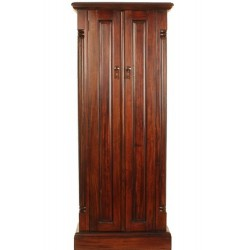 Forenza Mahogany CD or DVD Storage Cabinet