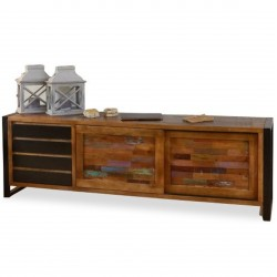 Akola Extra Large Reclaimed Wood Sideboard Mood