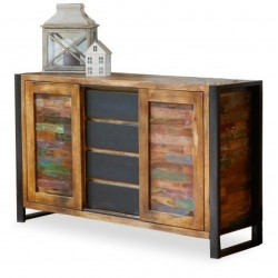 Akola Reclaimed Wood Sideboard - Mood