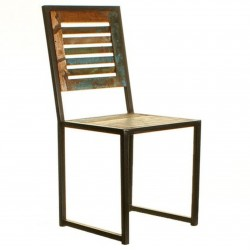 Akola Reclaimed Wood Dining Chair