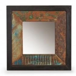 Akola Small Reclaimed Wood Mirror