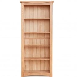 Rosciano Modern Oak Large Bookcase