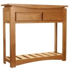 Rosciano Modern Oak Console Table