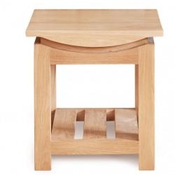 Rosciano Modern Oak Side Table