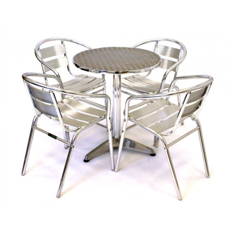 Medusa Outdoor Aluminium Patio Set