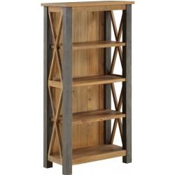 Urban Elegance  Reclaimed Small Bookcase
