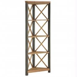 Urban Elegance  Reclaimed Large Corner Bookcase