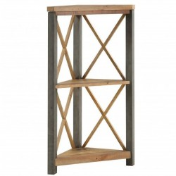 Urban Elegance  Reclaimed Small Corner Bookcase