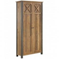Urban Elegance Reclaimed Storage Cabinet