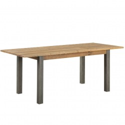 Urban Elegance Reclaimed Extending Dining Table