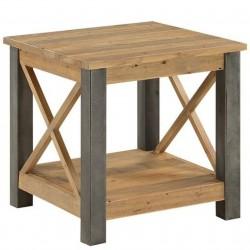 Urban Elegance Reclaimed Lamp Table