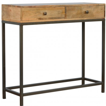 Alverton Industrial Style Console Table