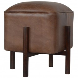 Orlando Leather Occasional Stool