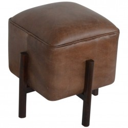 Orlando Leather Occasional Stool - overview