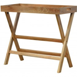 Tray Table with Foldable Legs