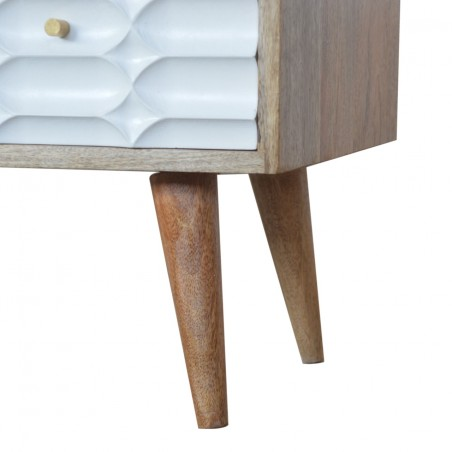 Berg Four Drawer Media Unit - Leg Detail