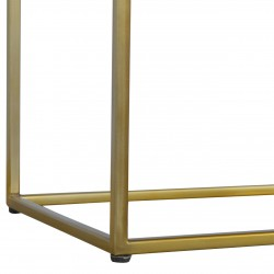 Chester Tray Table with Gold Base - Leg Detail