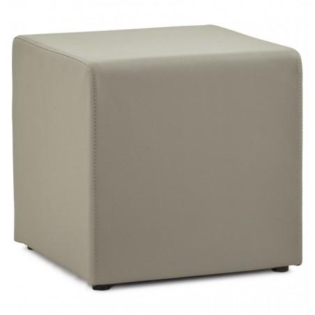 Cuero Low Cube Stool Grey