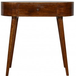 Small Rounded Console Table - Front View