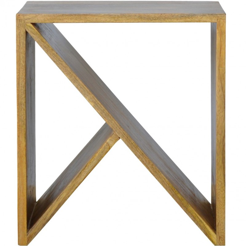 An image of District Geometric Library Side Table