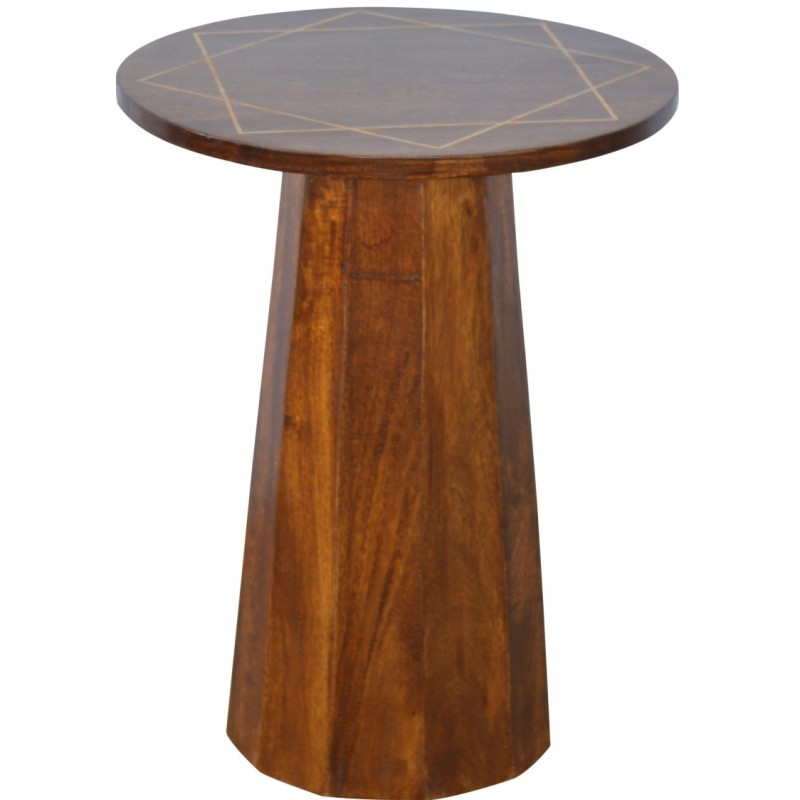 An image of District Geometric Side Table