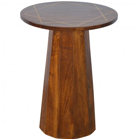 District Geometric Side Table