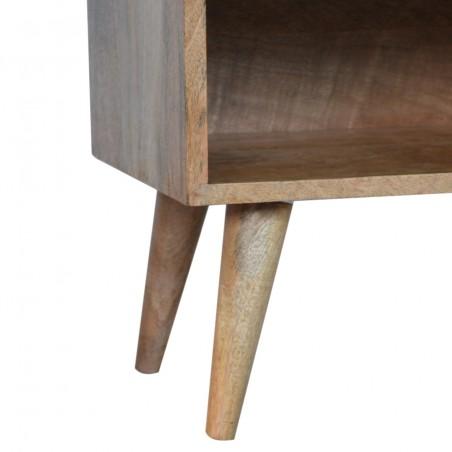 Sunrise Patterned Bedside Table - Leg Detail