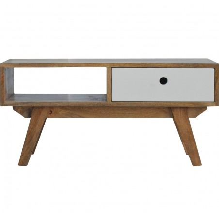 Two-Tone Hand Painted Media Unit - Front View