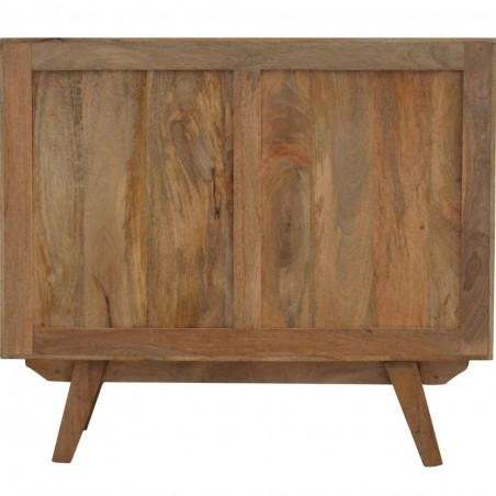 Two-Tone Hand Painted Cabinet - Rear View