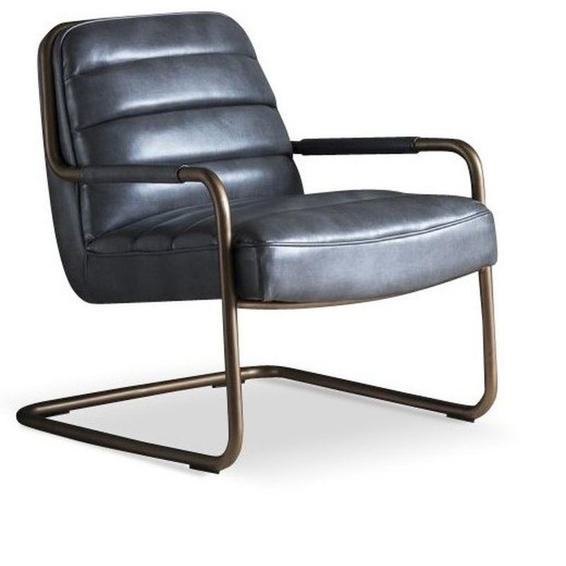 An image of Mayfair Lounge Chair Pewter