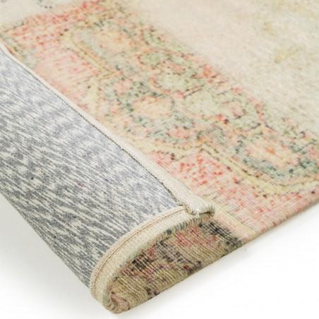 Lyla Patchwork Rug  Underside Detail