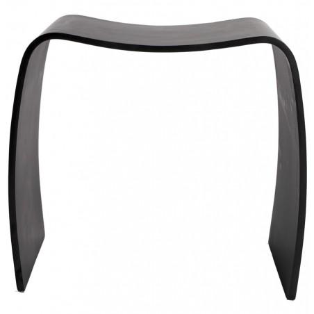 Tira Low Stool Black Front